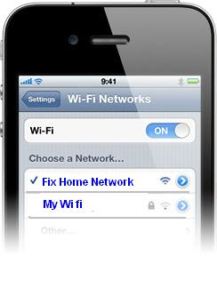 How to connect Iphone to WiFi