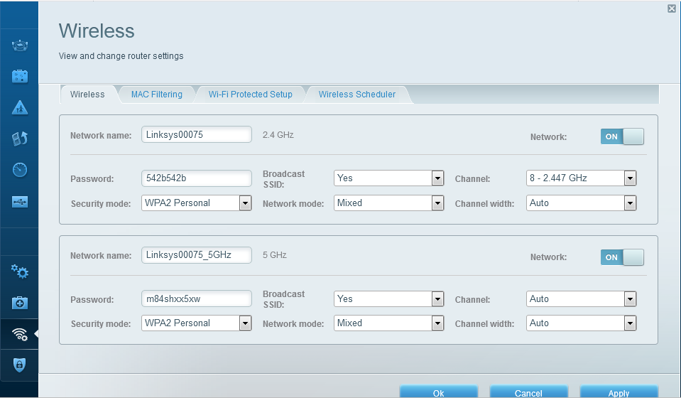 how to connect to linksys router settings